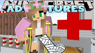 Minecraft - Little Kelly Adventures : I'VE BROKEN MY ANKLE?!