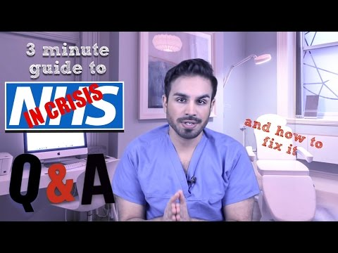 Reality Check - The NHS Crisis Explained in 3 mins.