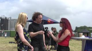 Anathema interview @ Download Festival 2014