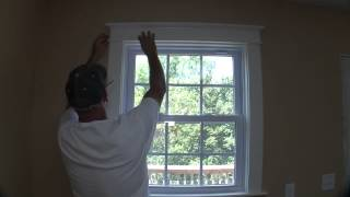 How To Trim A Craftsman Style Window Pt 3