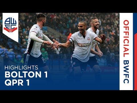 HIGHLIGHTS | Bolton 1-1 QPR
