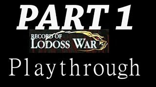 (Dreamcast) Record of Lodoss War Playthrough pt 1 - Resurrection