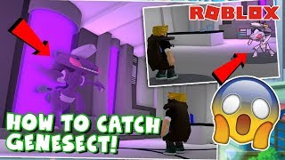 HOW TO CATCH GENESECT In Pokemon Brick Bronze! (Roblox)