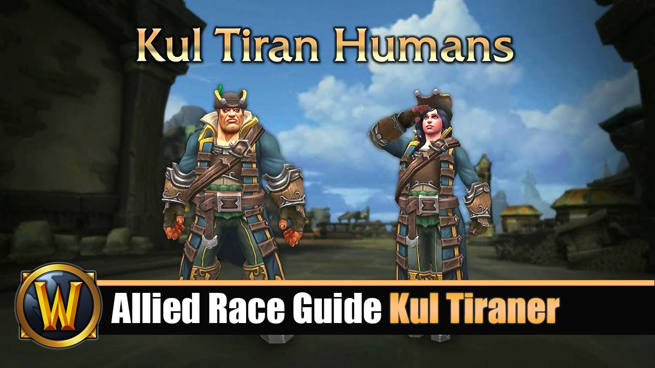 32df5f7e9 Allied Race Guide  Kul Tiraner Voraussetzungen   Pre Quest - YouTube