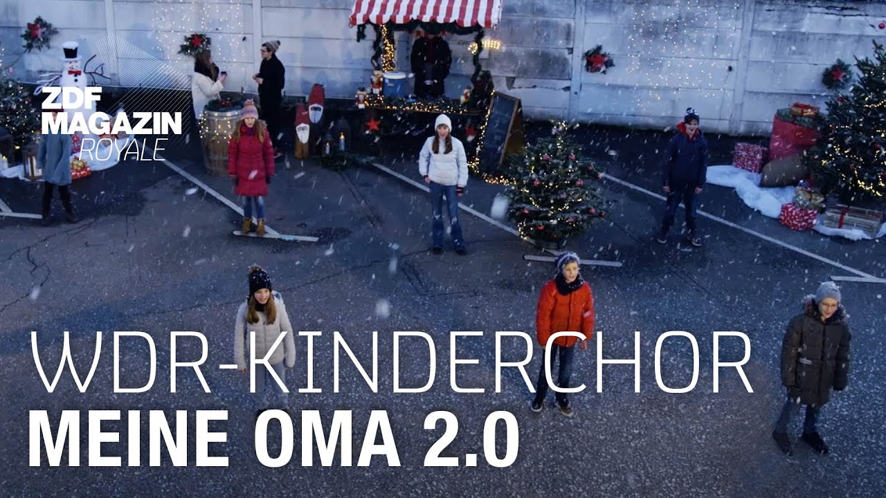 "Download WDR-Kinderchor feat. Jan Böhmermann - ""Meine Oma 2.0""  | ZDF Magazin Royale"