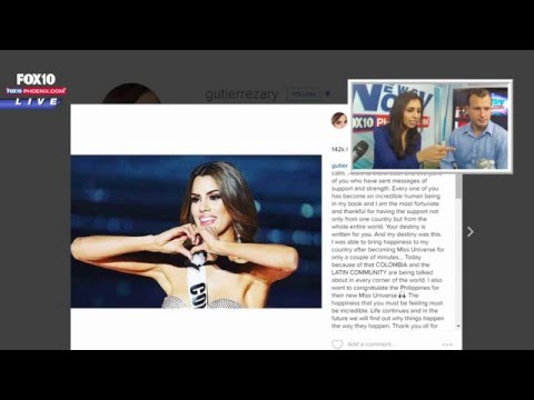 FNN: Miss Colombia Acknowledges Defeat, Gets Offer For Adult Film Opportunity