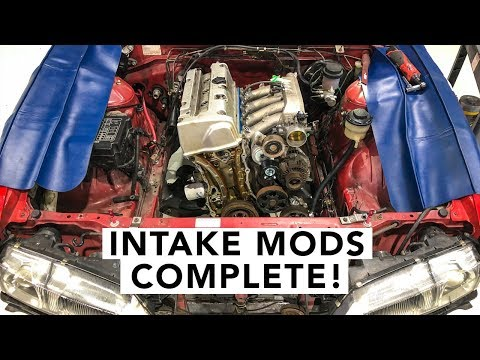 Easy Power Steering Solution - Honda K-Swap 240SX