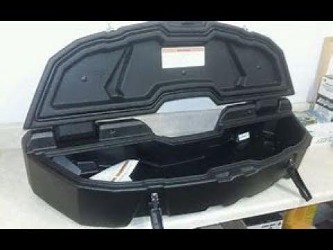 Maverick X3 Can Am 12 Gallon Rear Trunk Youtube