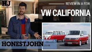 Car review in a few | 2018 Volkswagen California T6 - the absolute joy of campervanning