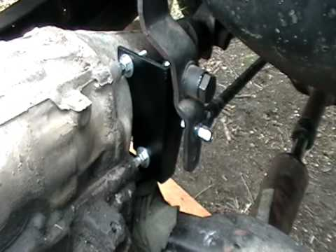 Transfer Case Shifter Hooked Up Youtube