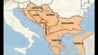 Balkan map / Greater Greece, Bulgaria, Serbia and Croatia!