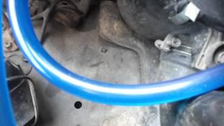 Прозрачные топливные шланги на Nissan Terrano(, 2012-10-17T16:04:34.000Z)