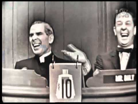 What's my line - Bishop Fulton J. Sheen