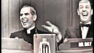 What's my line - Bishop Fulton J. Sheen