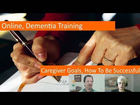 Caregiver Goals: How to be Successful