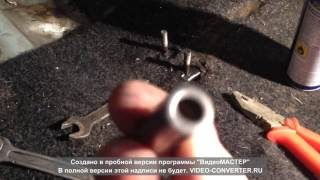 Устранение вибрации ручки КПП на ВАЗ 2109