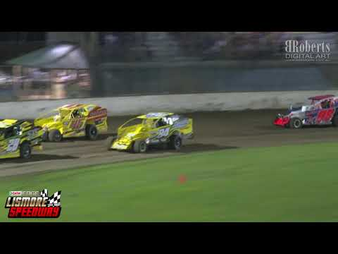 B Main V8 Dirt Modified 26|01|2020. - dirt track racing video image
