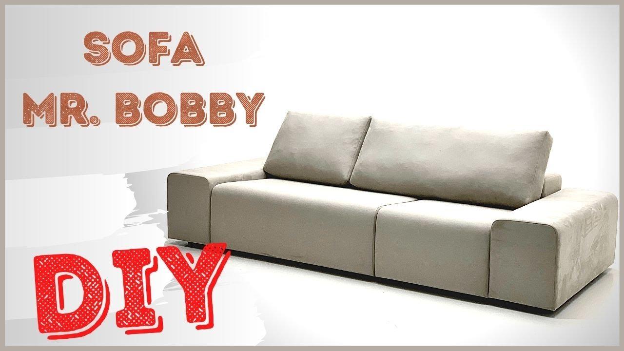 Изготовление ДИВАНА Mr.BOBBY / Making the SOFA Mr. BOBBY