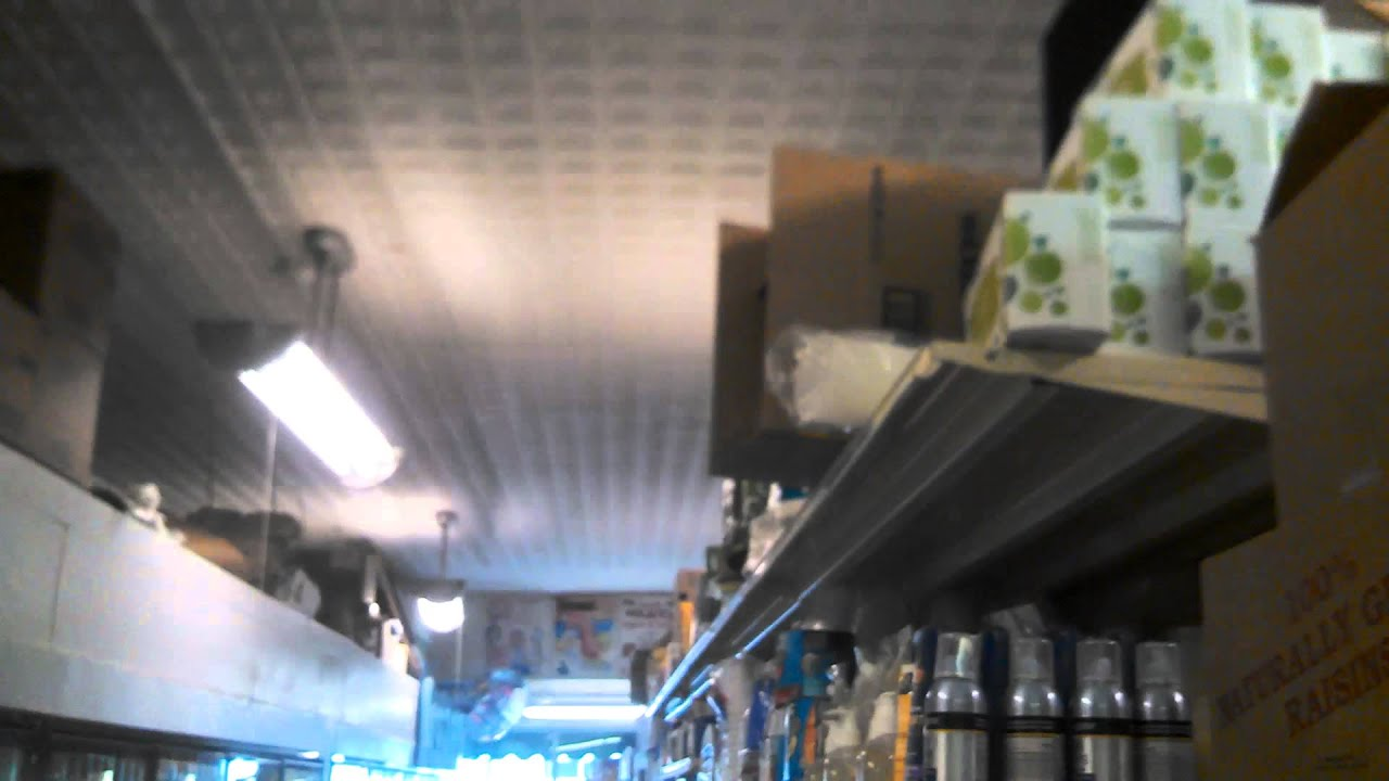 Cec Menards Turn Of The Century Ceiling Fans Amp Vintage Half Pipe Fluorescent Fixtures In A