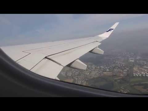 Takeoff At Zurich To Helsinki With Finnair