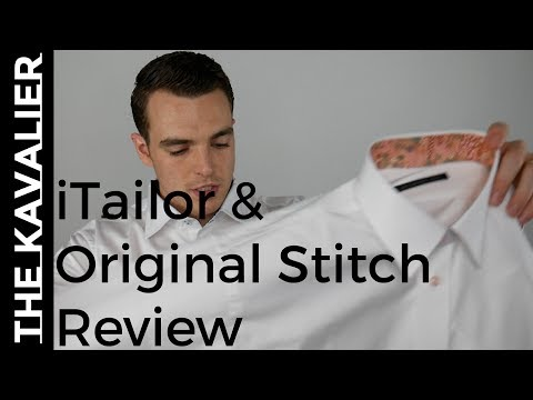 iTailor & Original Stitch Unboxing & Review - YouTube
