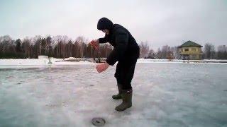 Зимняя рыбалка. Ловим форель зимой..