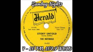 Story Untold - Doo Wop Radio Show on Sunday Nights!
