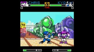 #346 King of Fighters R-2 (NGPC) Hidden Characters (2/9): Orochi Chris playthrough.