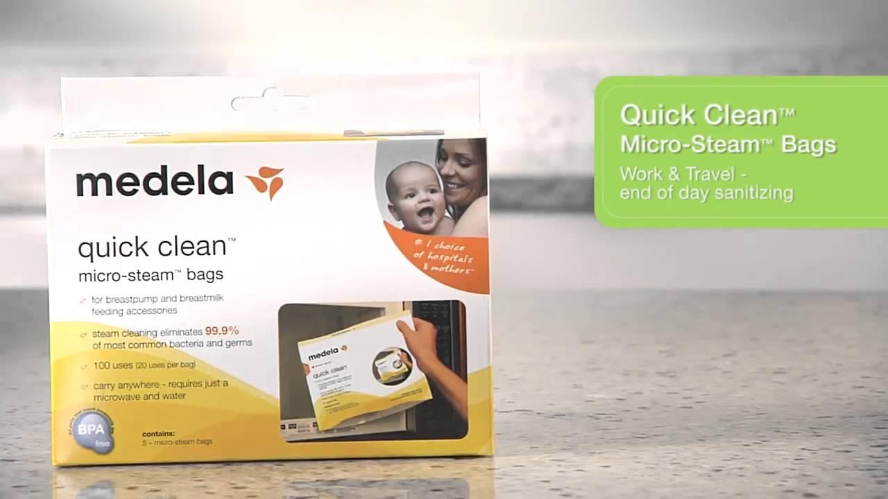 Quick Clean Micro Steam Bags Medela