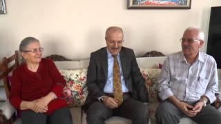 Başkanımız emekli öğretmen karı koca öğretmenlik yapmış olan Mehmet-Fatma Bilir çiftine misafir oldu