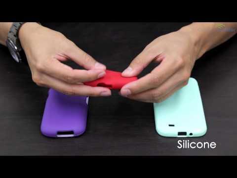 Rubberized Hard Case  vs.  Silicone vs. TPU