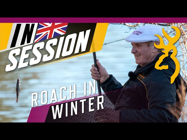 Winter Roach Fishing : In Session with Bob Nudd