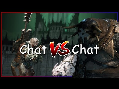 Shadow of War | PIT FIGHTING SHOWCASE - Chat vs Chat – Part 1