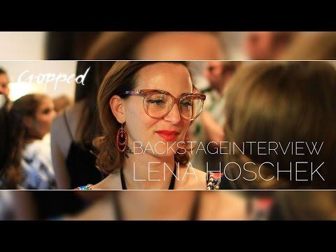 #LassMaSchnacken - Backstage Interview mit Lena Hoschek Fashion Week Berlin 2015