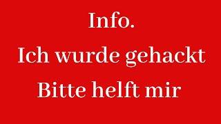 INFO !!!! ICH WURDE GEHACKT |  ALLES IST WEG | INSTA | PRIVATE KONTEN