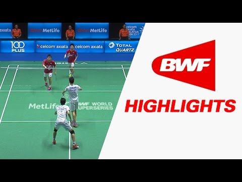 Celcom Axiata Malaysia Open 2017   Badminton F – Highlights