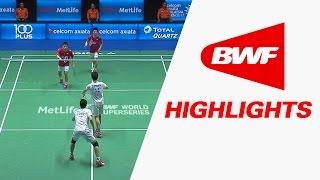 Celcom Axiata Malaysia Open 2017 | Badminton F – Highlights