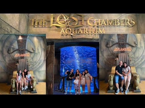 The Lost Chambers Aquarium, Dubai Atlantis