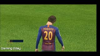 Barcelona vs Juventus - Dream league soccer 19 - Android gameplay #02
