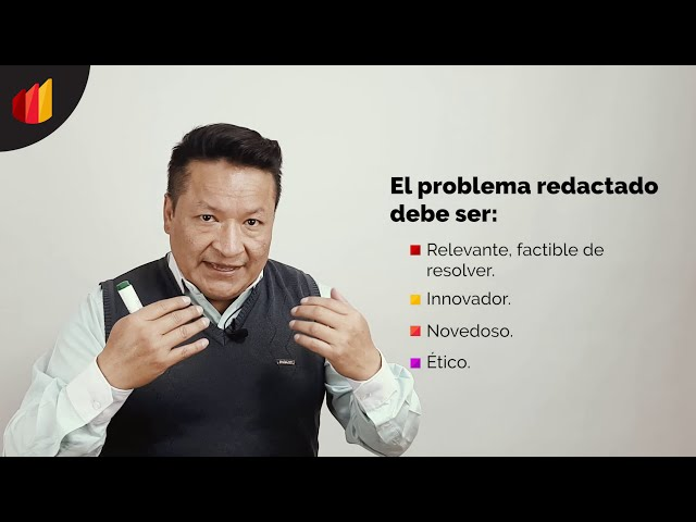 EJEMPLO PARA FORMULAR EL PROBLEMA DE INVESTIGACIÓN (PARTE II)