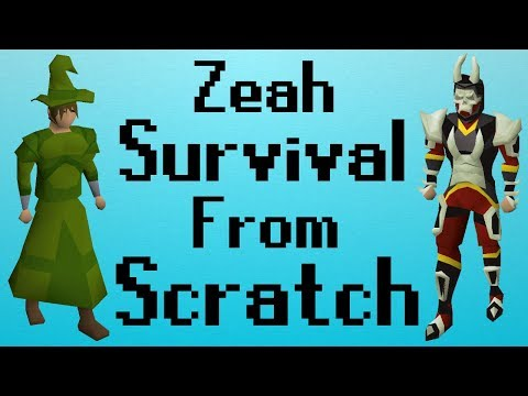 [OSRS] Zeah Survival From Scratch