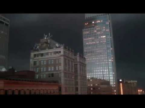 June 20th 2014, severe storm over downtown Omaha