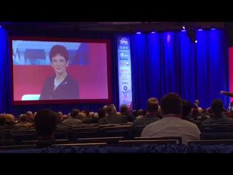 Mona Charen Gets Boos at #CPAC2018 for Marechal  Le Pen Comments
