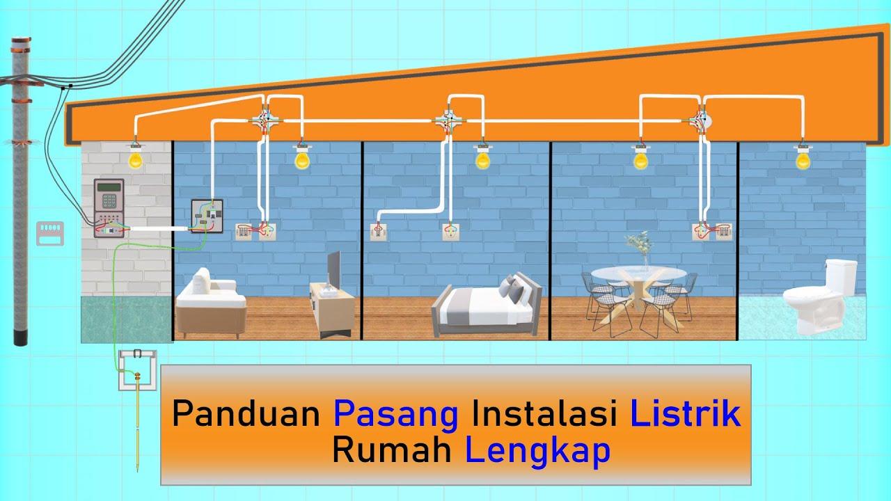 Download (Req) Simulasi Pemasangan Instalasi Listrik Rumah