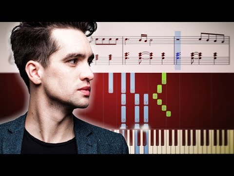 Panic! At The Disco - Death Of A Bachelor - Piano Tutorial + Sheets