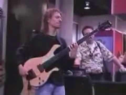 Michael Manring Namm Show Bass Clinic Youtube