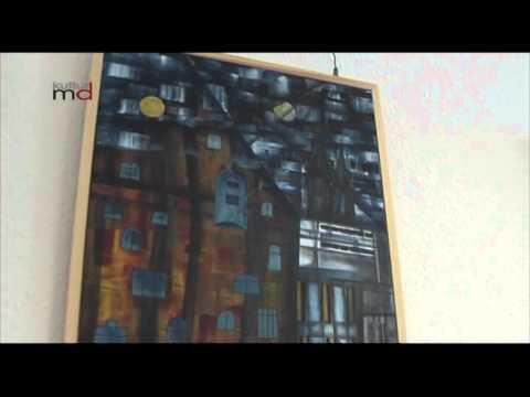 240812 Ausstellung Acrylmalerei Ernst Vogel