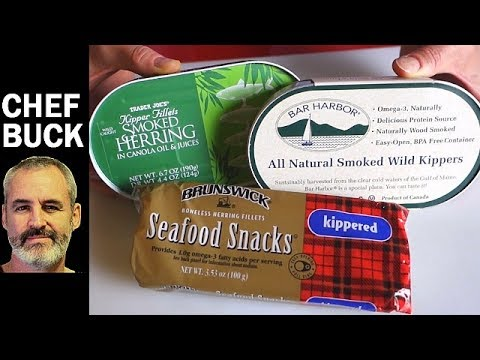 Canned Herring Recipes - 2 ways to eat kippers