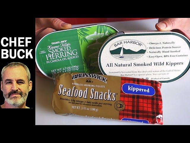 Canned Herring Recipes 2 Ways To Eat Kippers Youtube