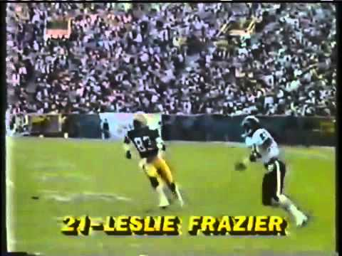 1984 CHICAGO BEARS  CB LeslieFrazier